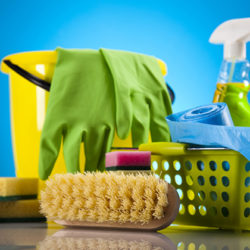Cleaning and laundry products