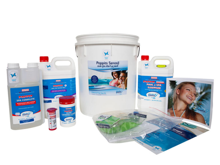 Poppits pool and spa sanitiser system