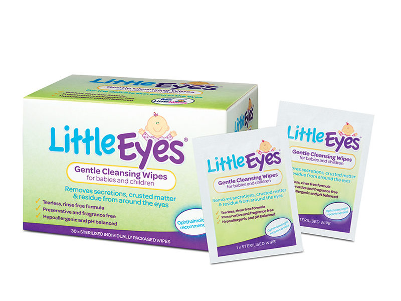 FESS Little Eyes cleansing wipes