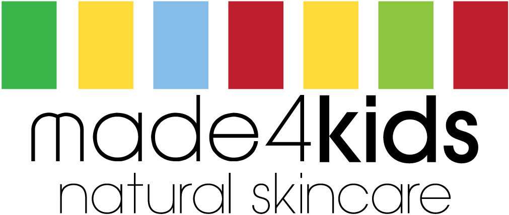 made4baby natural skincare CMYK text